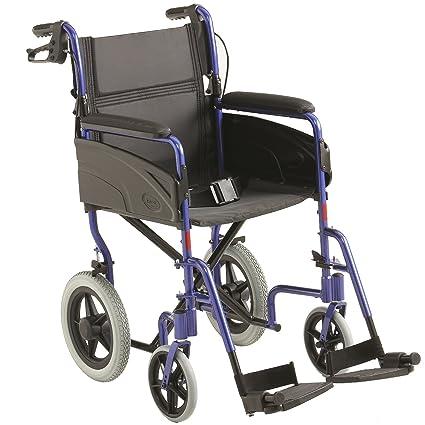 "Invacare ligero aluminio transporte silla de ruedas - 18"" ancho de asiento"