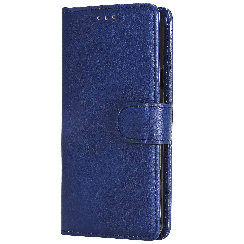 Bear Village/® H/ülle f/ür Samsung Galaxy A3 2016 TPU Innere Ledertasche Flip Leder Handyh/ülle Tasche mit Kartensfach 360 Grad Voll Schutz Blau