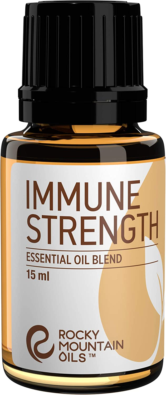 Rocky Mountain Oils Immune Strength Essential Oil Blend 15ml - 100% Pure Essential Oils
