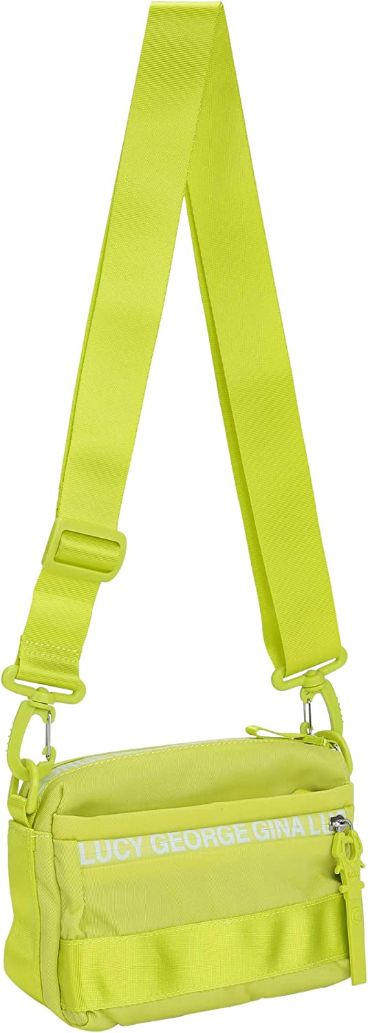 George Gina & Lucy Nylon Roots Solid YMA Green Yellow