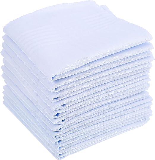 Anjing - Pañuelos de algodón Puro, tamaño Grande, 15 Unidades, para Hombre: Amazon.es: Hogar