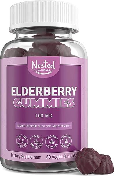 Nested Naturals Elderberry Gummies