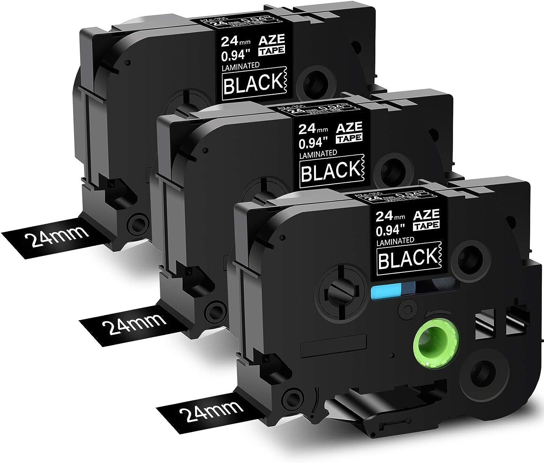 3x TZ-251 TZE-251 24mm Kompatibel für Brother P-Touch PT-P750W P700  D600VP E500