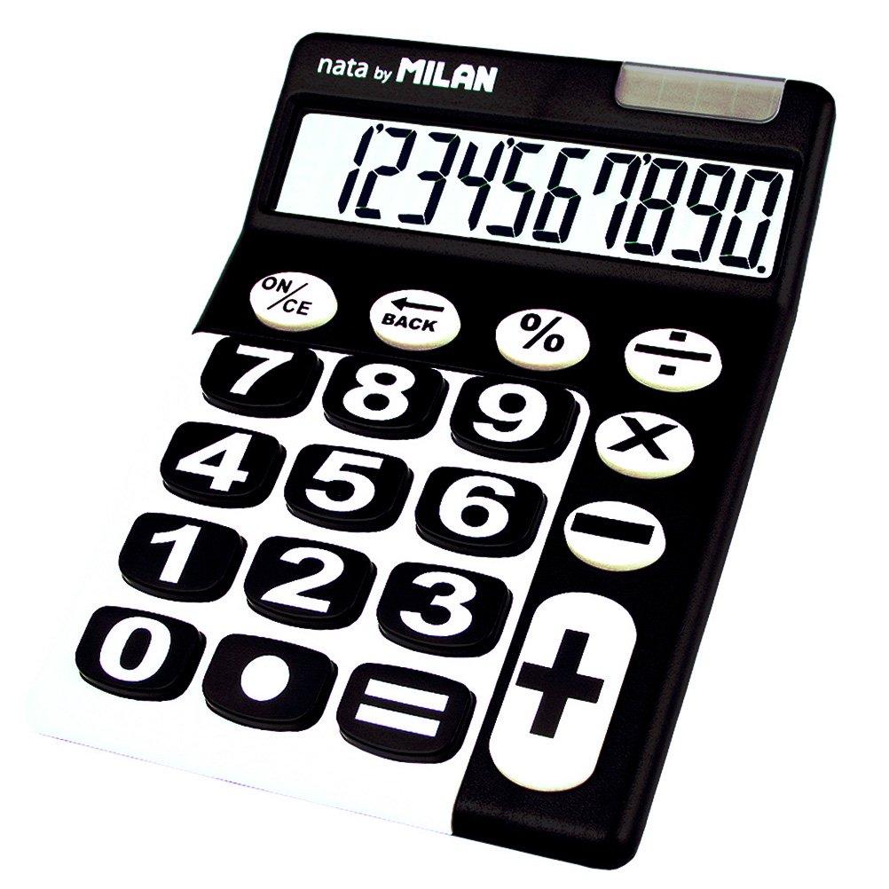 Milan 150610KBL Calcolatrice M150610KBL