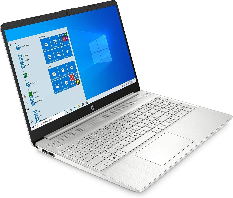 2021 HP 15.6 FHD IPS Touchscreen Laptop, Intel Core i7-1065G7 Processor, 12GB Memory, 256GB SSD, HDMI, Intel Iris Plus Graphics, Webcam, Bluetooth, Windows 10, Silver, W/ IFT Accessories