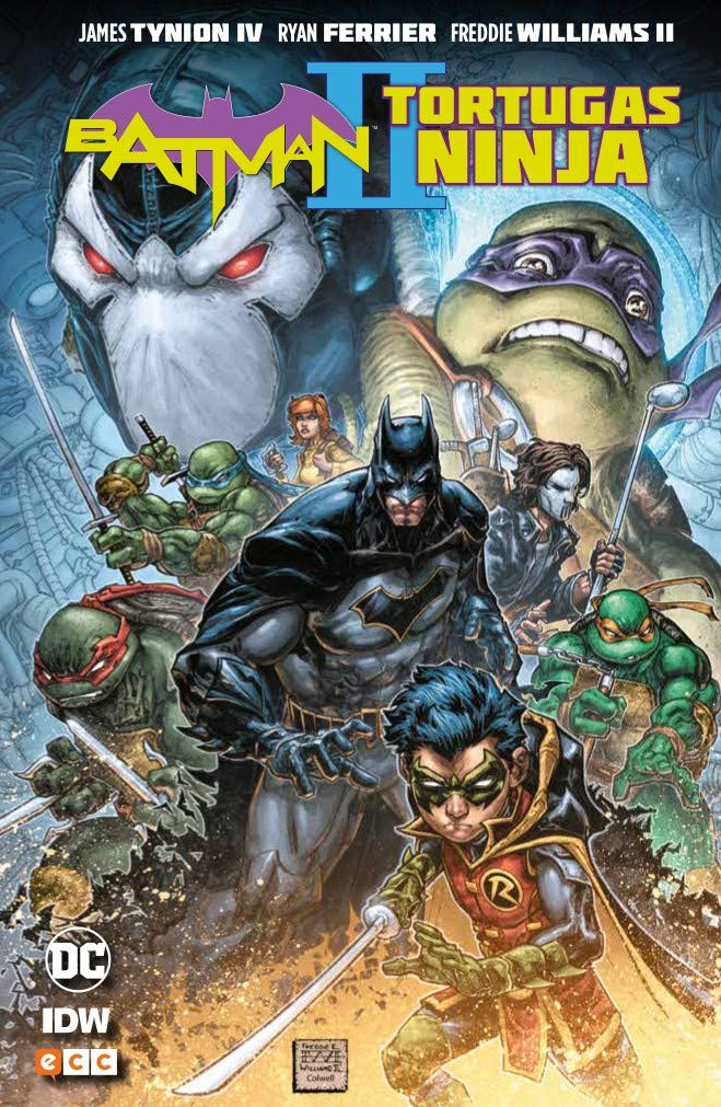 Batman/Tortugas Ninja II: Amazon.es: James Tynion IV ...