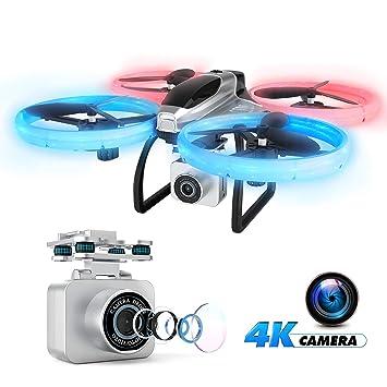 EACHINE E020, RC Drone Plegable con Camara HD 4K, Seguimiento de ...