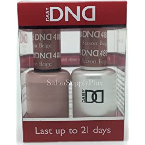 DND Gel & Matching Polish Set (488 Season Beige)
