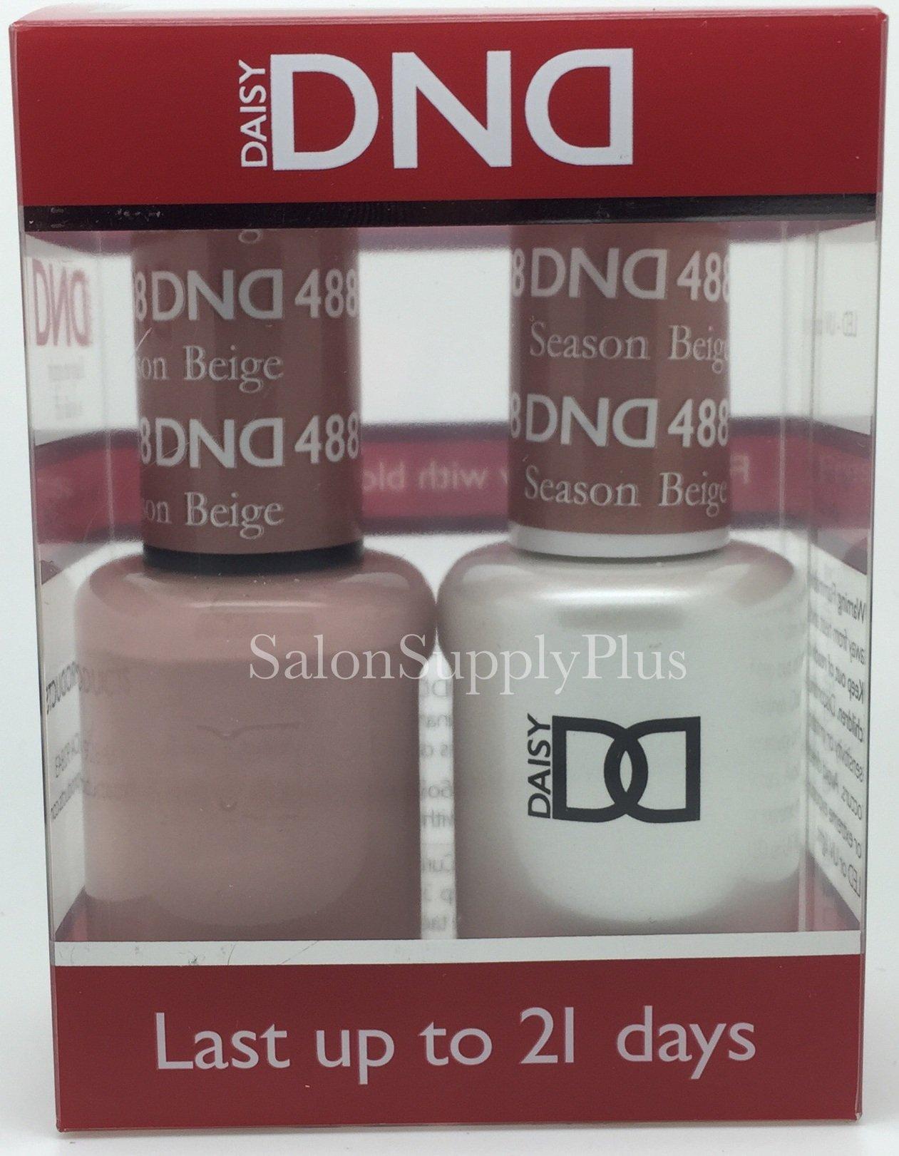 Amazon.com: DND Gel & Matching Polish Set (487 Fairy Dream): Health ...