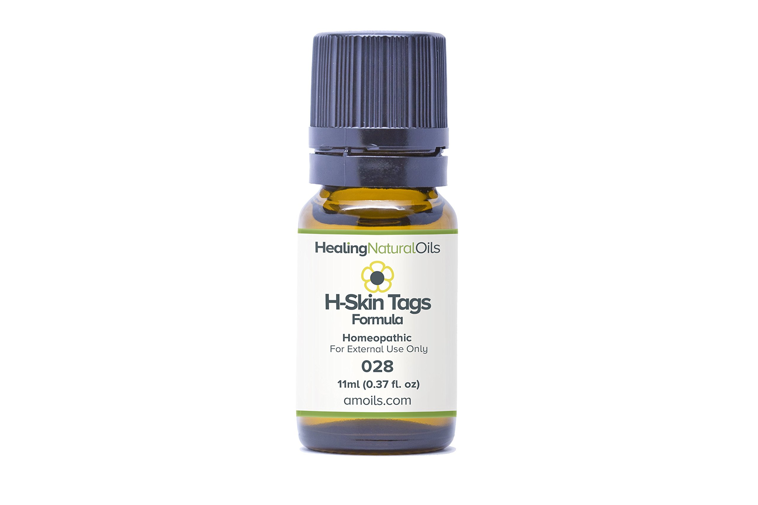 Skin Tag Removal Alternative 11ml size. A Powerful Blend of Safe, Gentle Natural Ingredients for Effective Skin Tag Treatment. No Cream, Tape or Remover Kits. Designed to Remove Skin Tags At Home by Healing Natural Oils