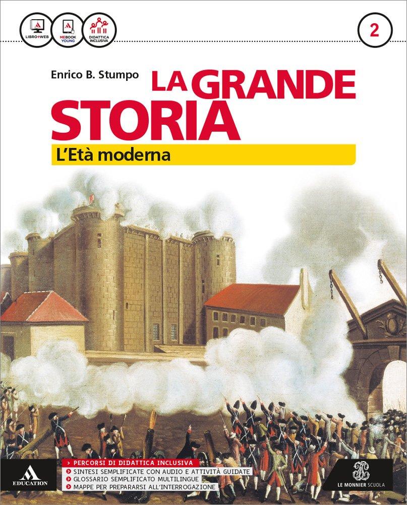 La grande storia 2 – L'età moderna, libro di storia per le scuole medie