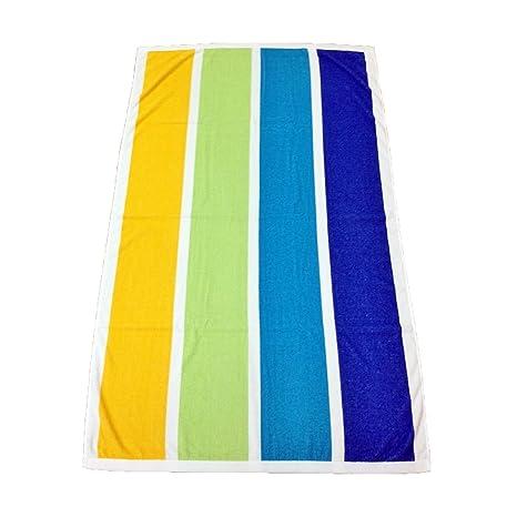 Toalla de playa grande ref: cabañero 100% algodón 400GSM - 90 cm x 170