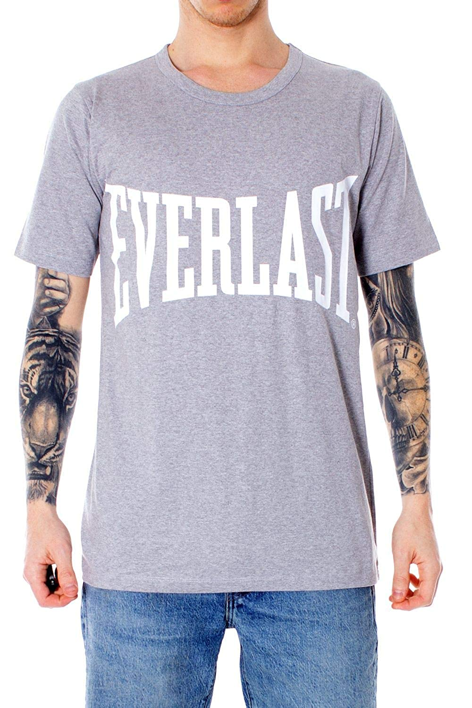 Everlast Luxury Fashion Hombre 26M321J20GREY Gris T-Shirt ...