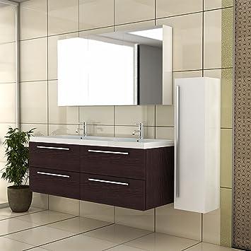 Waschbeckenunterschrank mit Spiegelschrank /Badmöbel / Badezimmer ...