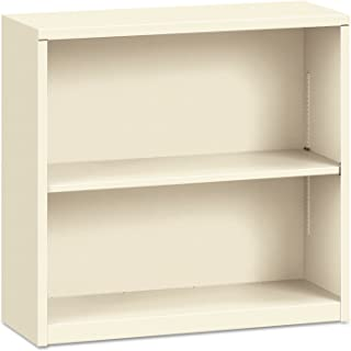 product image for HON S30ABCL Metal Bookcase, Two-Shelf, 34-1/2w x 12-5/8d x 29h, Putty