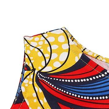 f2ec75d5dd345 Amazon.com : Copercn Women's Ladies European Bright Splice Pattern ...