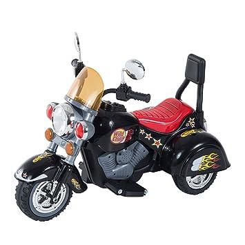 db454da13 Amazon.es: HOMCOM Moto Electrica Infantil Bateria Recargable Niño 3 Años  Cargador 3 Ruedas 2.5km/h
