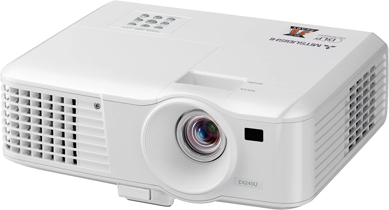 Mitsu EX240U - Proyector LCD, color blanco: Amazon.es: Electrónica