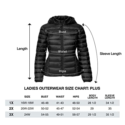 582d56e6ea01b Amazon.com  32 DEGREES Women Plus Size Ultra Light Hooded Down Packable  Jacket  Clothing