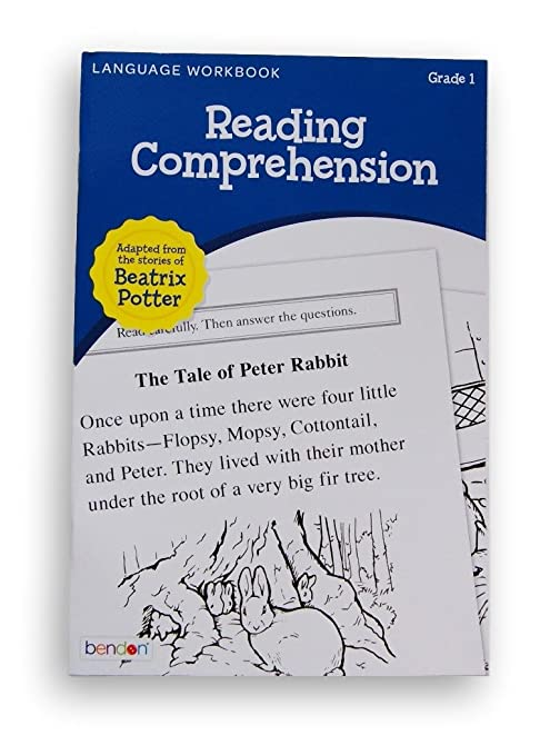 Amazon.com: Bendon Language Workbook - Reading Comprehension ...