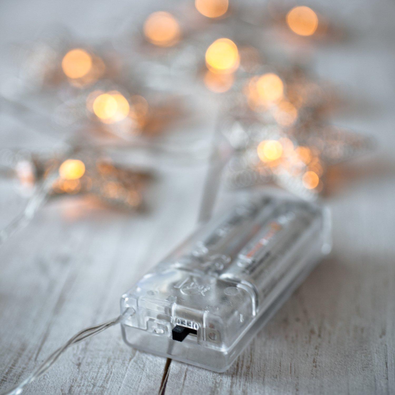 710-lNcmxuL._SL1500_ Erstaunlich 10er Lichterkette Mit Schalter Dekorationen