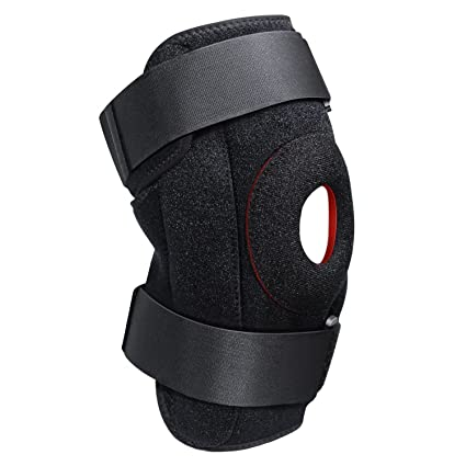 2d28419402 FOKEY Knee Brace, Knee Sleeve : Compression Adjustable Knee Support Strap,  Open Patella Protector Wrap for Pain Relief, Arthritis, ACL, Sports and  Injury ...