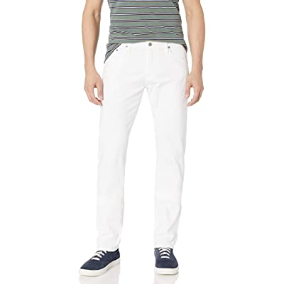 AG Adriano Goldschmied Men's Matchbox in White: Clothing