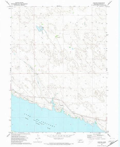 Amazon com : YellowMaps LeMoyne NE topo map, 1:24000 Scale, 7 5 X