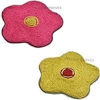 Yellow Weaves™ Microfiber Designer Door mat