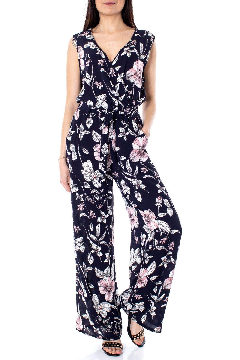 Only Women's 15172746blueE bluee Polyester Jumpsuit
