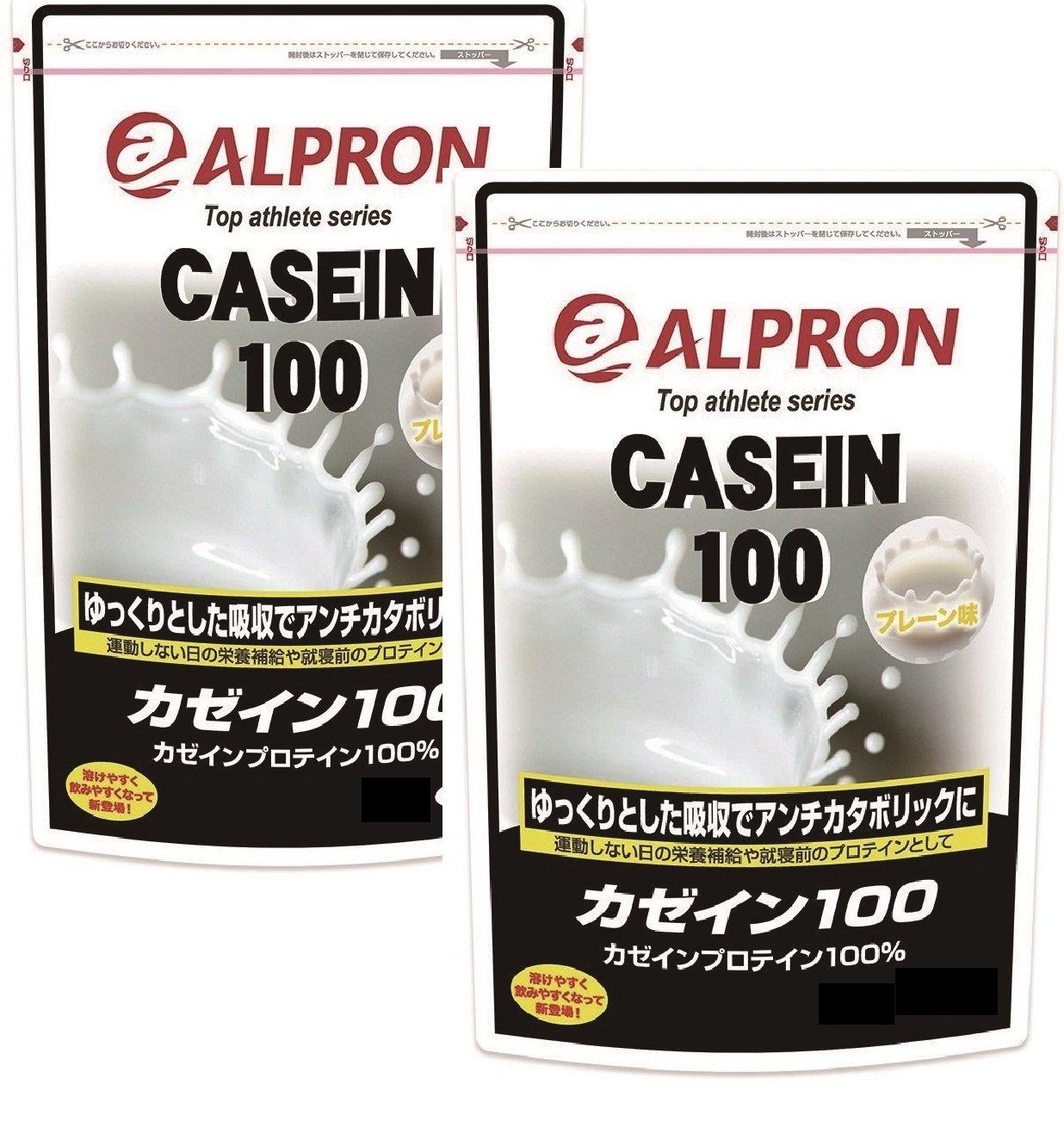 【2袋セット】アルプロン カゼインプロテイン100 無添加 3kg×2 B079YZ4R3H