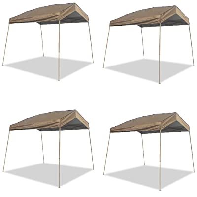Z-Shade 12 x 14 Foot Panorama Instant Pop Up Canopy Tent Outdoor Tent (4 Pack): Sports & Outdoors
