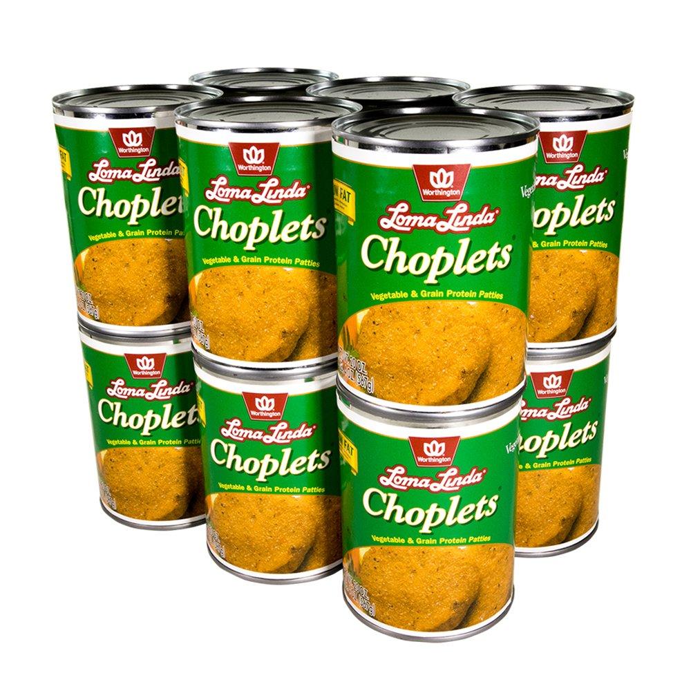 Loma Linda - Vegetarian - Choplets (20 oz.) (Pack of 12) – Kosher