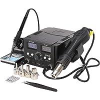 Orion Motor Tech 2 i 1 SMD Dubbel Digital Lödkolv Sats Lödkolv 70 Watt Varmluftspistol 750 Watt Justerbar Varmluft…
