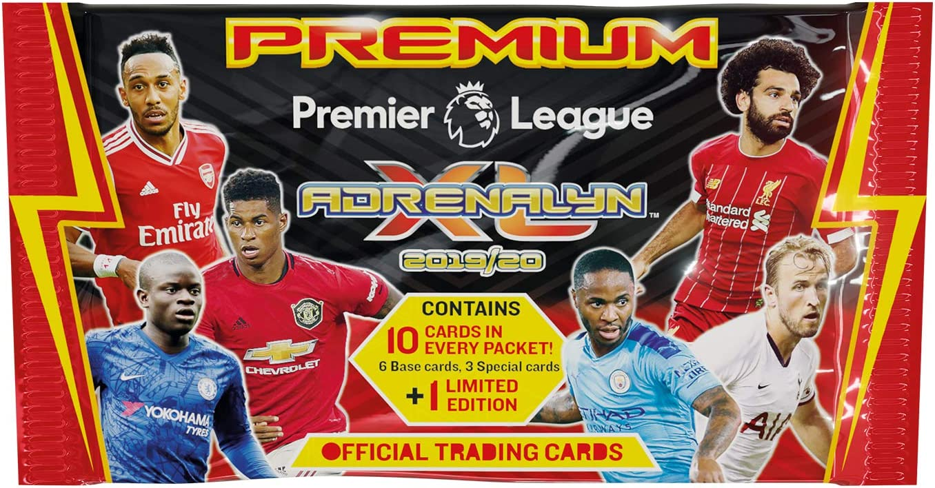 Panini Premier League 2019/20 Adrenalyn XL Juego de Cartas ...