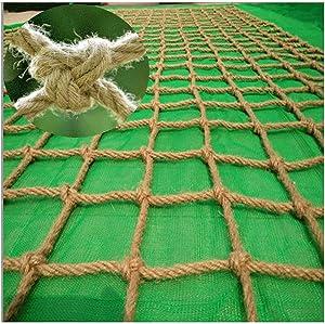 Safety Net Decor Birds Net Outdoor Kids Climbing Rope Net Heavy Hemp Rope Cargo Net Ladder Truck Trailer Net Hammock Rope Waterproof (Size : 44m(1313ft))