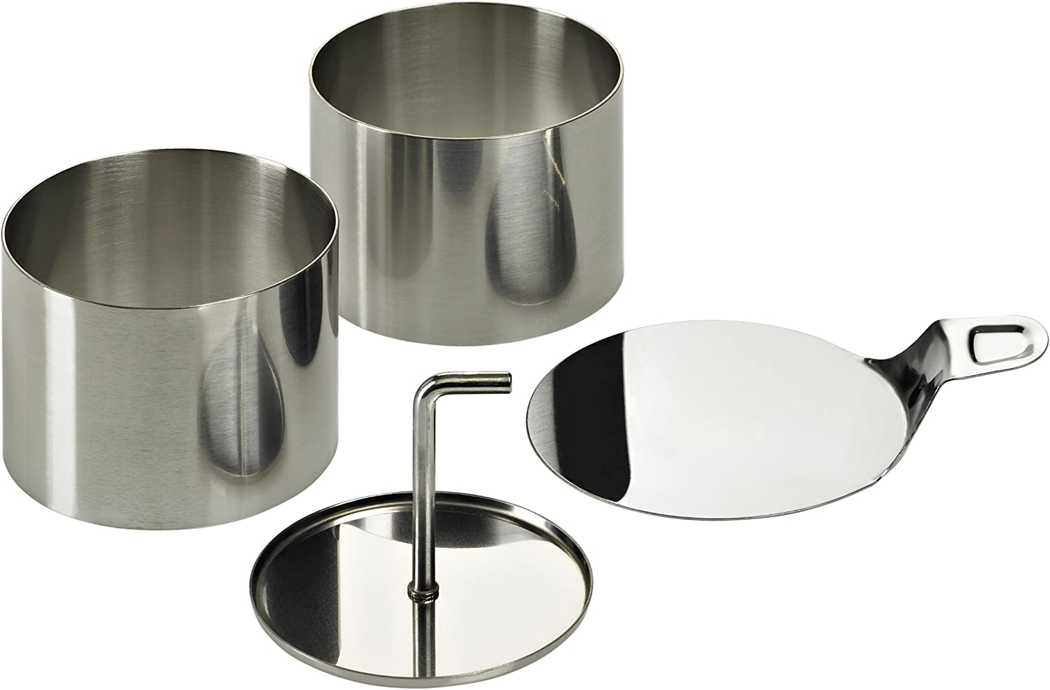 Lurch Germany Stainless Steel Dessert Food Rings - Set of 8