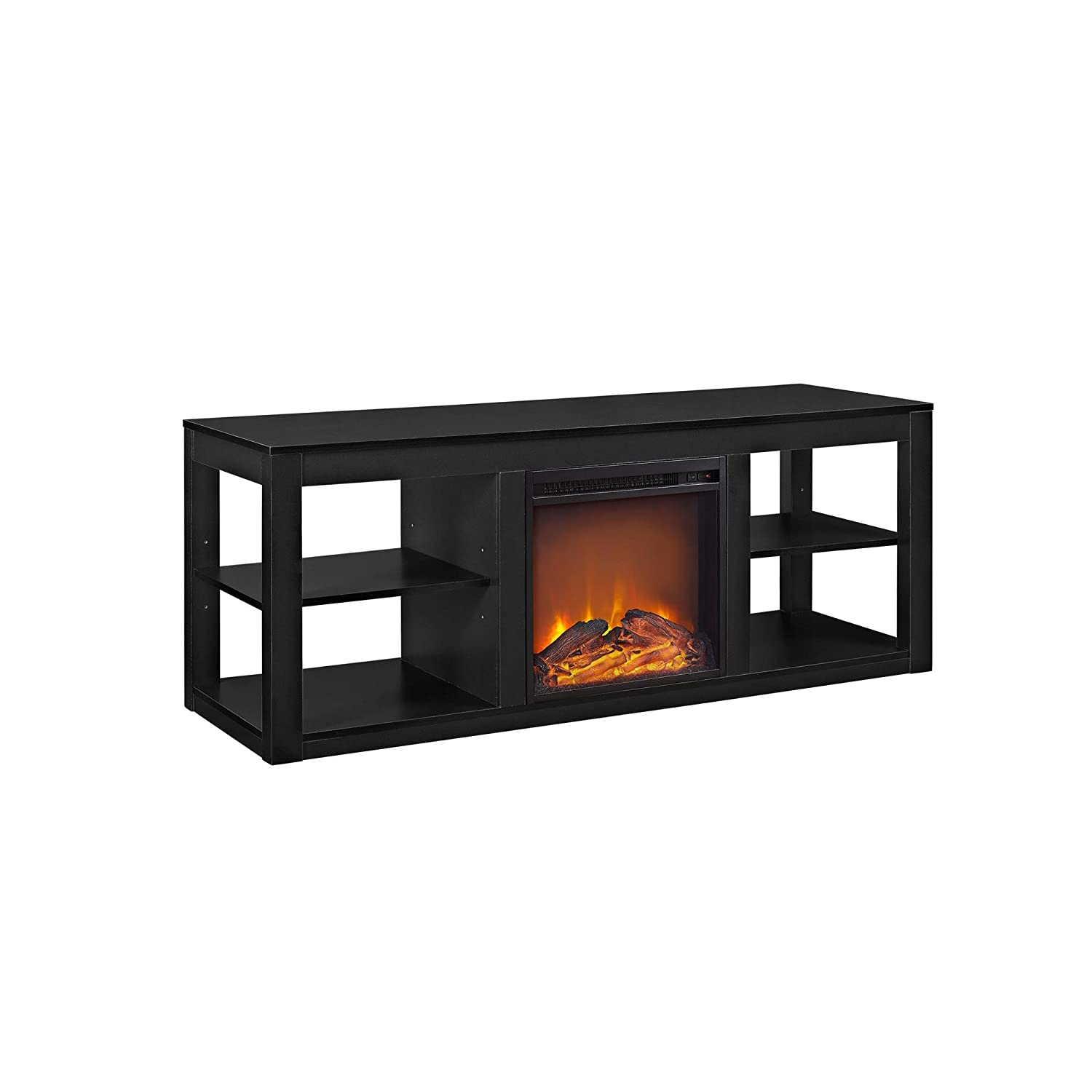 style white of and stunning image cheap uncategorized stand ideas combo imgid electric fireplace tv