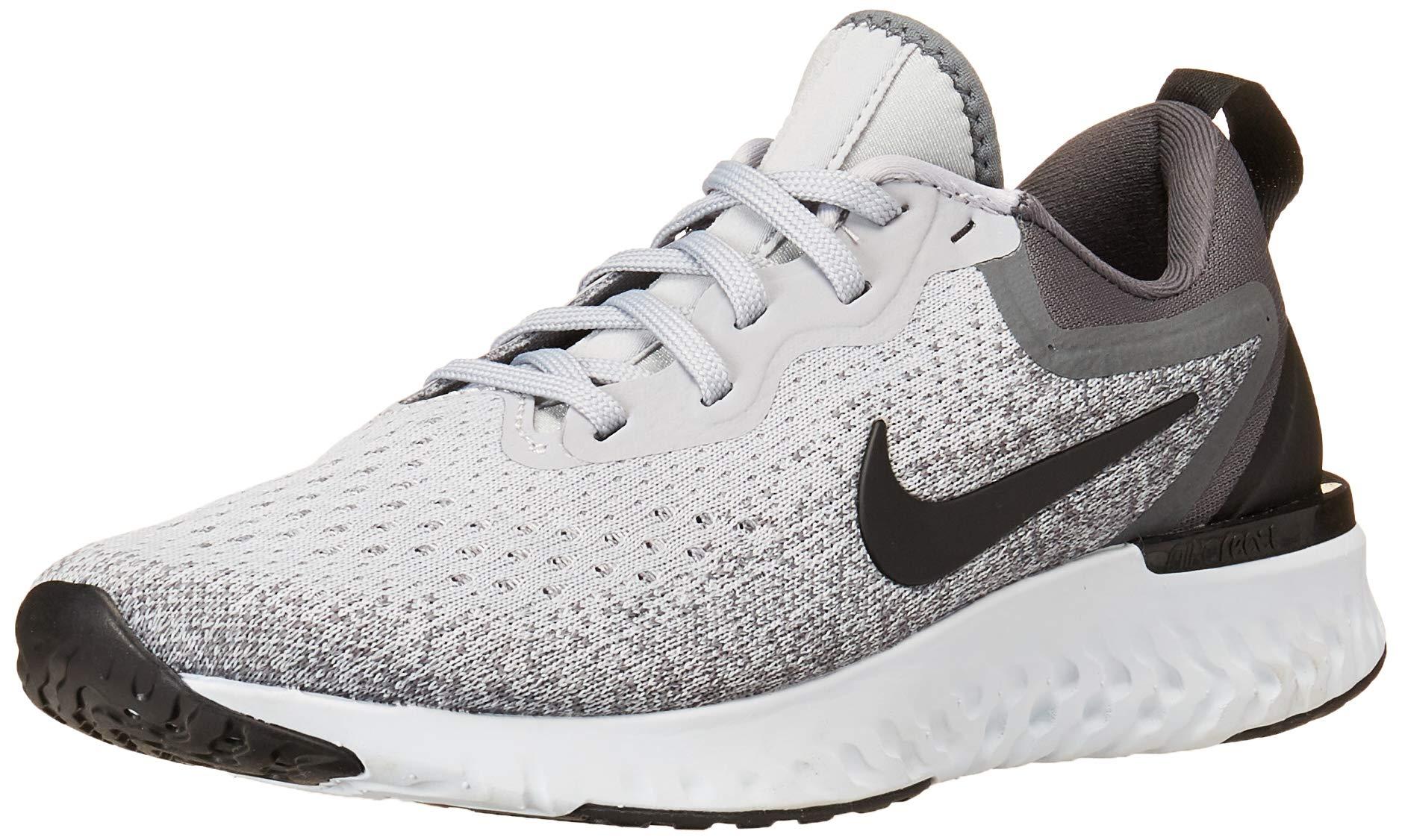 bb0b1d9c16479 Galleon - Nike Women's Odyssey React Wolf Grey/Black/Dark Grey Running Shoe  7 Women US