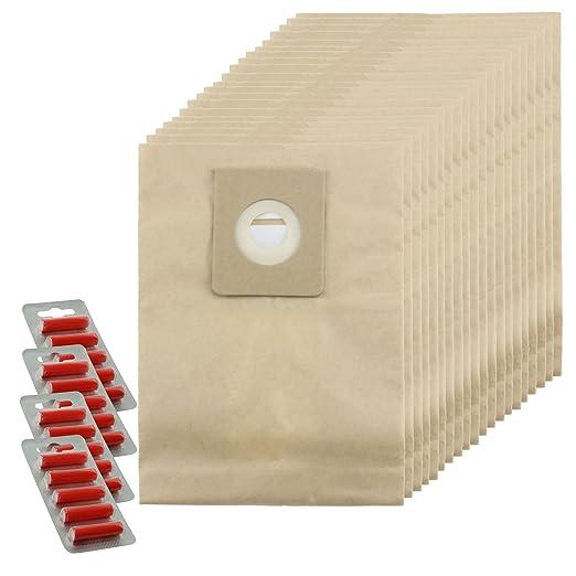 Spares2go fuertes bolsas de polvo para Nilfisk Power P10 P12 P20 ...