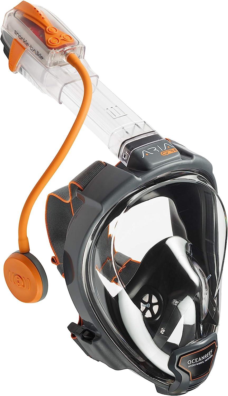 Posibilidad de Hablar con Diferentes Usuarios a Distancia Snorkie Talkie EU Version Bater/ía Recargable V/ía USB Walkie Talkie para Esnorkel OCEAN REEF