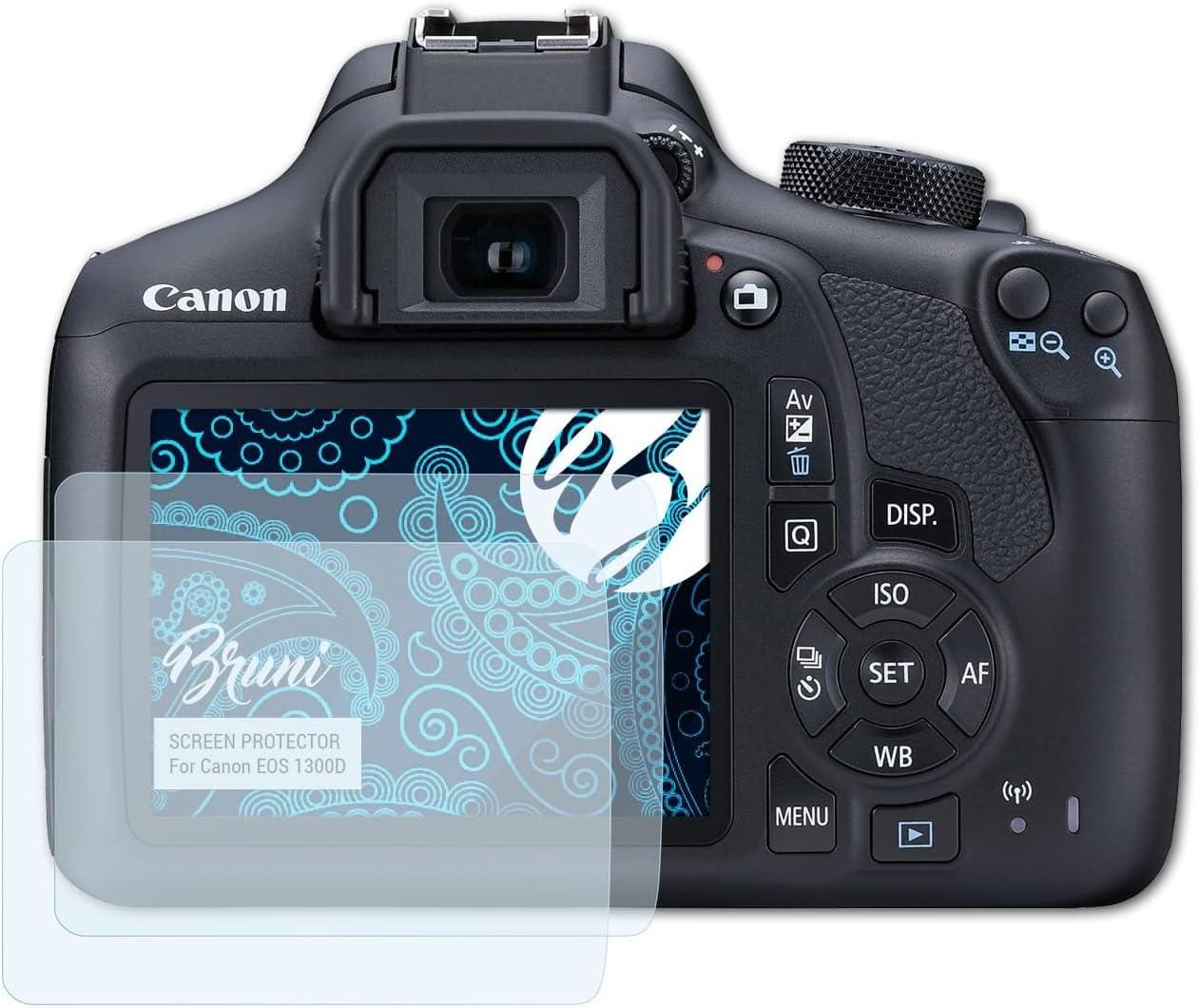 Bruni Película Protectora para Canon EOS 1300D / EOS Rebel T6 ...