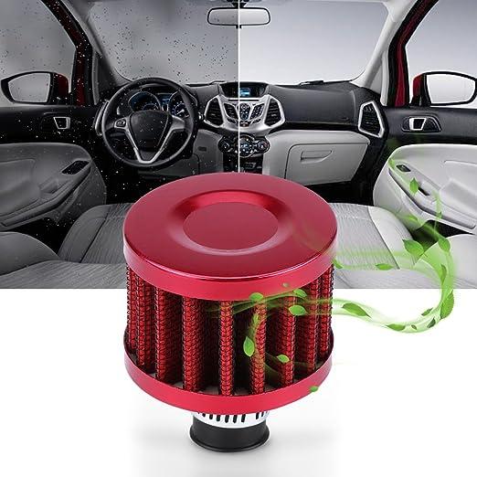 Auto Pilz Luftfilter 13 Mm Universal Luftfilter Auto Luftansaugfilter Für Roller Atv Dirt Pit Bike Motorrad Kurbelgehäuse Vent Abdeckung Entlüftung Rot Auto