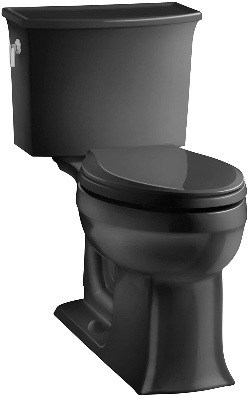 KOHLER K-3551-7 Archer Comfort Height Two-Piece Elongated 1.28 GPF ...