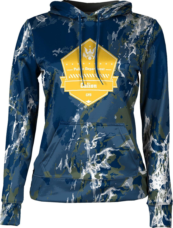 ProSphere Girls' Calion Police Department Marble Hoodie Sweatshirt (Apparel)