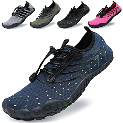 KRIMUS Mens and Womens Water Shoes Quick Dry Aqua Sock Sport Beach Shoes for Swimming Surfing Yoga Running | Water Shoes
