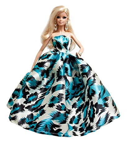 Amazon.com: Blue Print Prom Dresses for Barbie Doll: Toys & Games