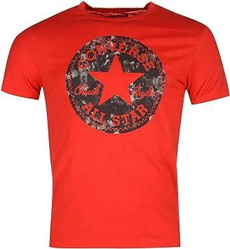 tee shirt converse femme rouge