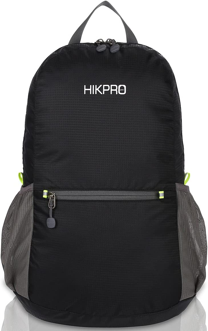 HIKPRO 20L – The Most Durable Lightweight Packable Backpack, Water Resistant Travel Hiking Daypack for Men Women