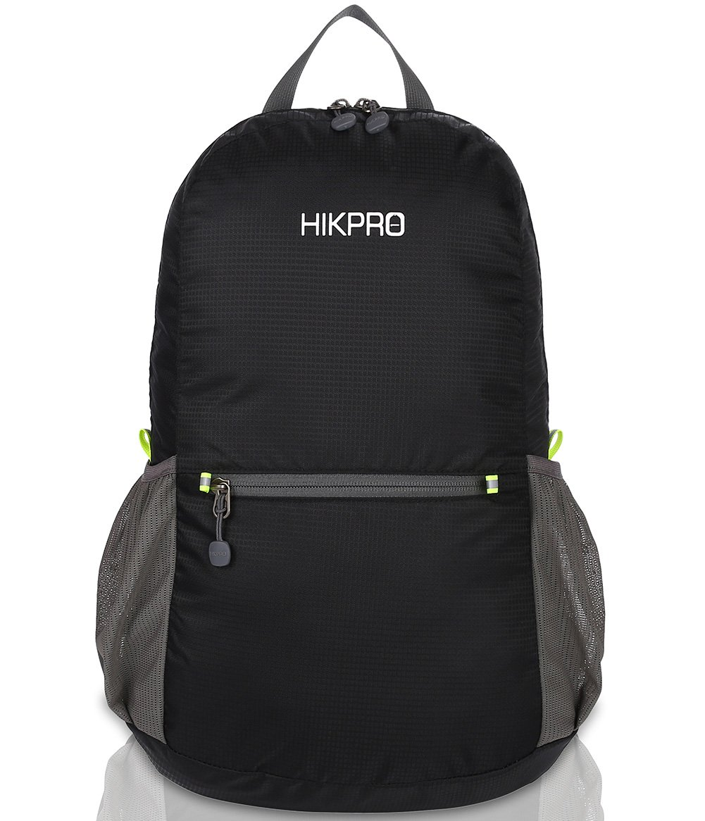 HIKPRO 20L - The Most Durable Lightweight Packable Backpack, Water Resistant Travel Hiking Daypack for Men & Women by HIKPRO